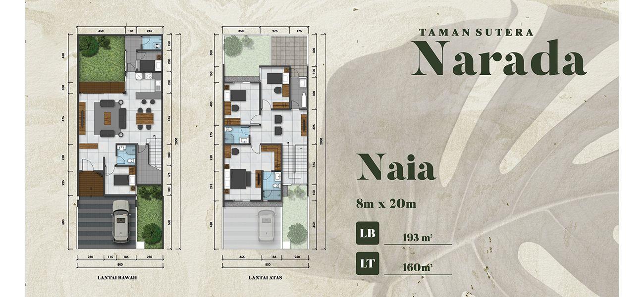 Residensial Taman Sutera Narada Tipe Naia di Tangerang Selatan