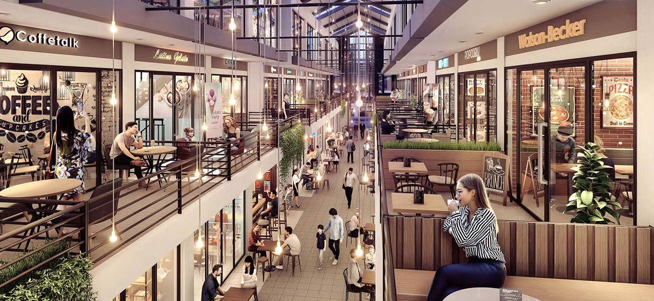 Komersial BSD City – Ruko Virginia Arcade di Tangerang Selatan