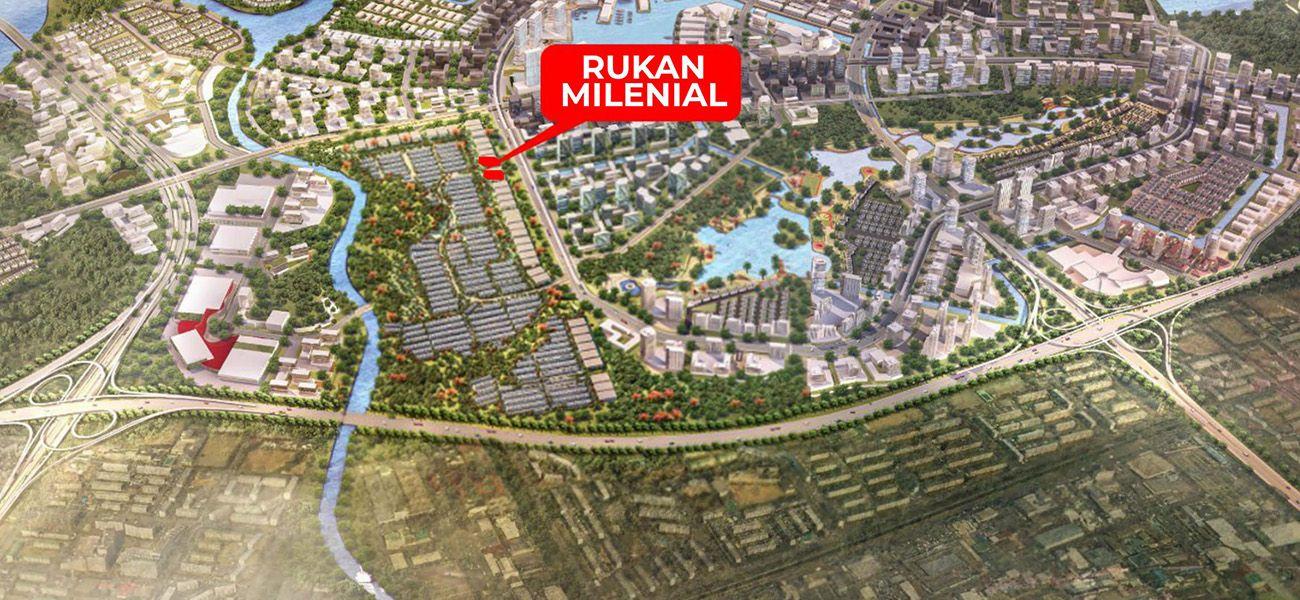 Komersial PIK 2 - Rukan Millenial di Jakarta Utara