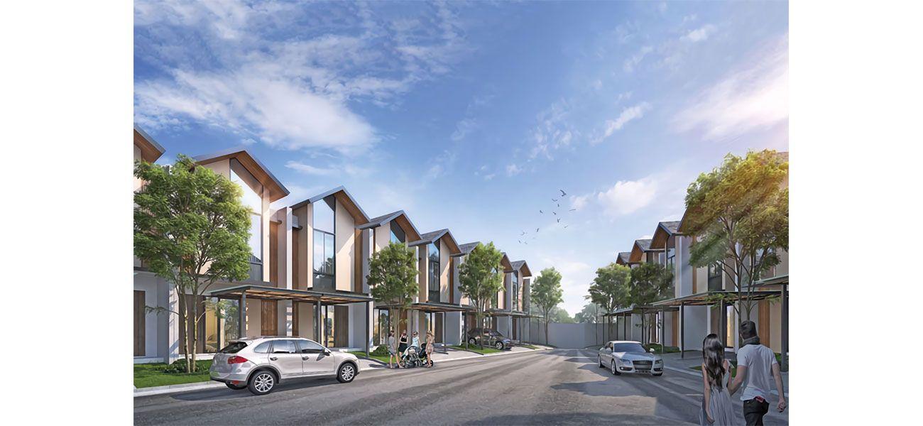 Residensial Fortunia Residence di Tangerang Selatan
