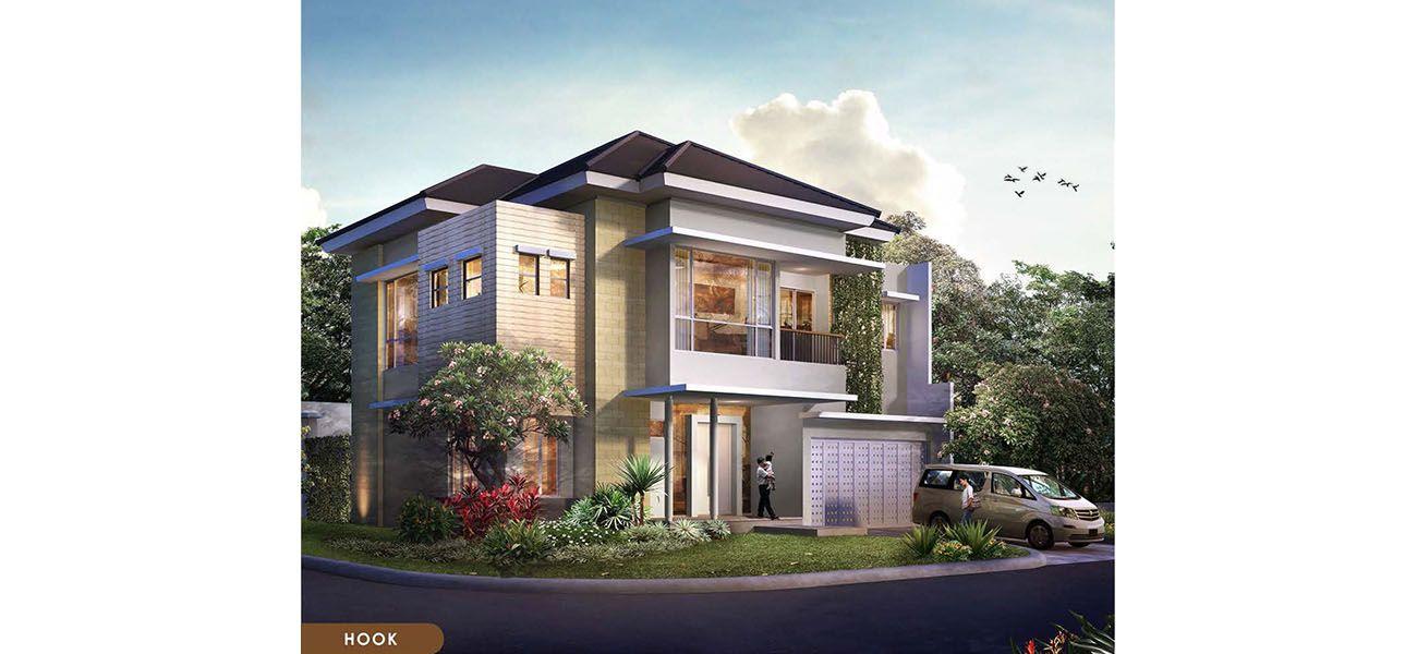 Residensial Cluster Goldfinch Tipe M at The Springs di Tangerang