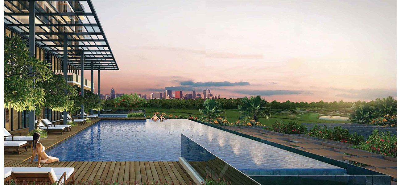 Residensial Kawana Golf Residence Tipe 2 Bedroom di Bekasi