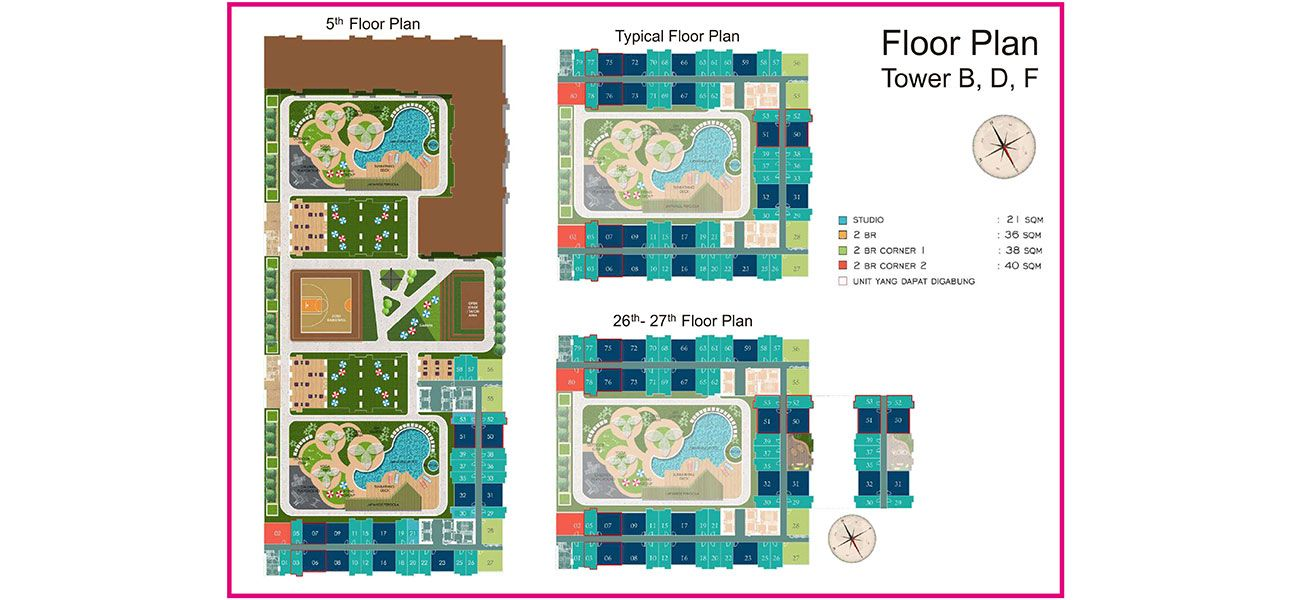 Residensial PIK 2 – Tokyo Riverside: Tower 1 - 6 di Jakarta Utara