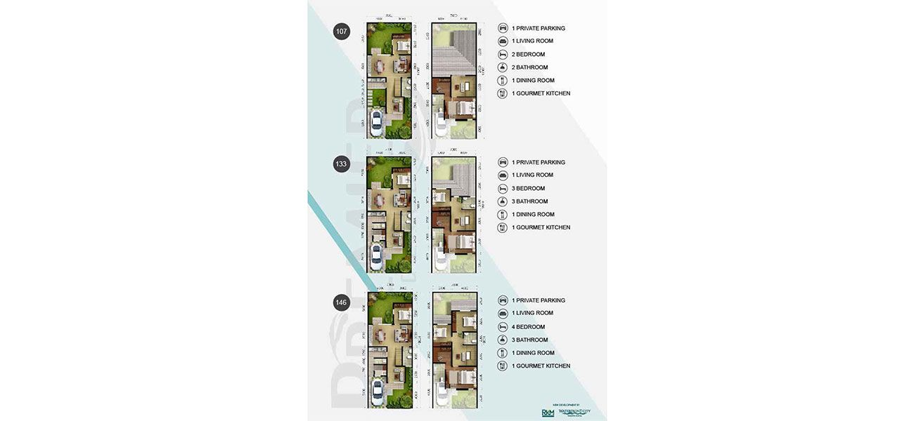 Residensial RKM Tanjung Bunga - Premier Residence Tipe Trivial di Makassar
