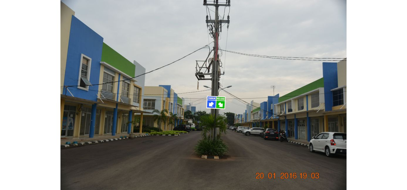 Residensial & Komersial Galuh Mas Karawang Tipe Ruko Arcadia di Karawang