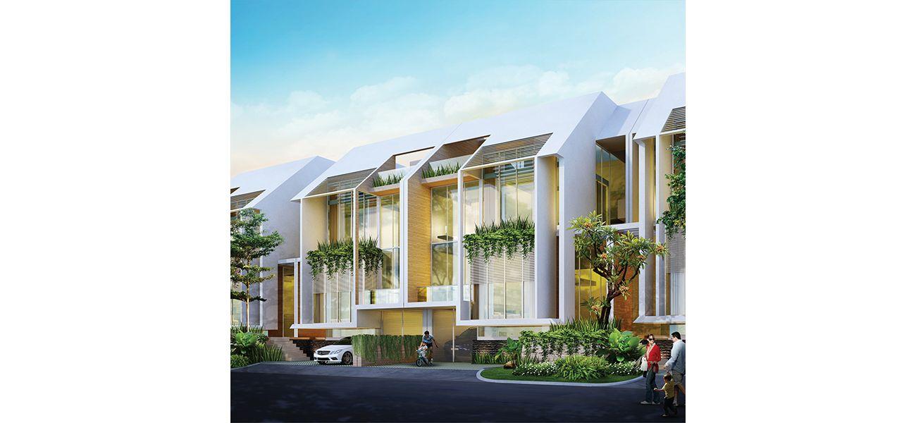 Residensial Asera One East at Kota Harapan Indah Tipe Kafaya di Bekasi