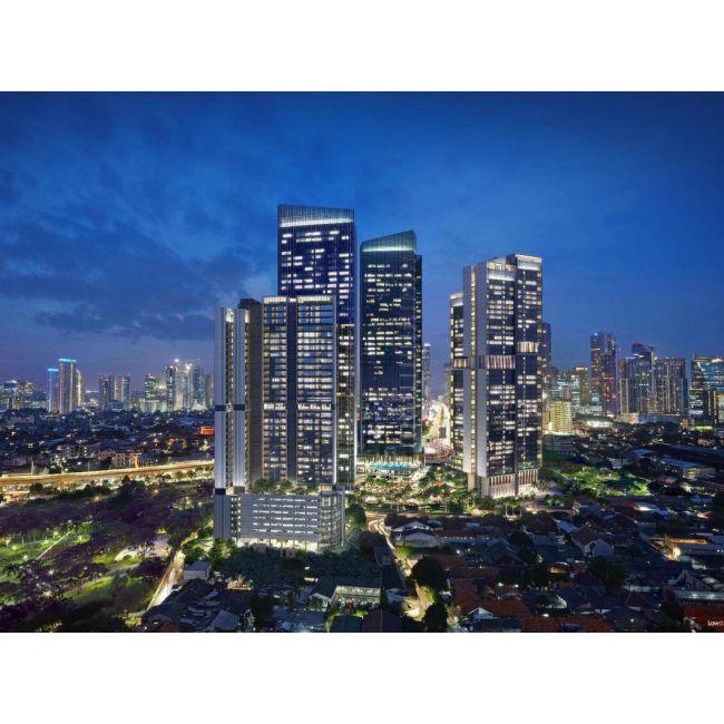 Residensial The Newton 2 Apartemen Tipe 2 Bedroom di Jakarta Selatan