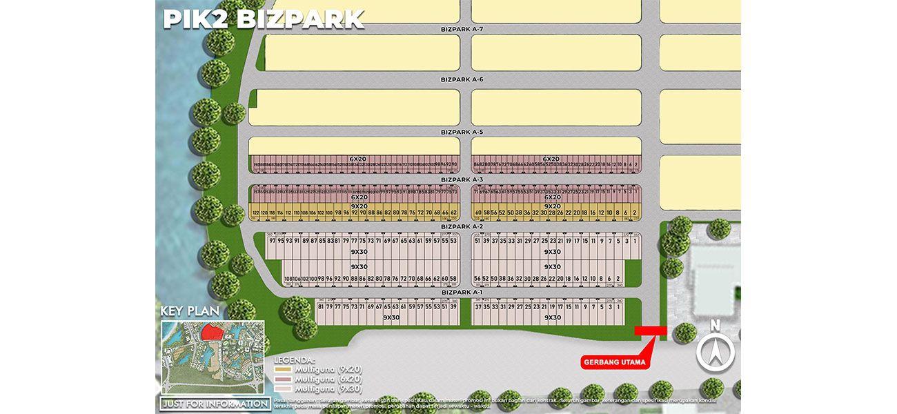 Komersial PIK 2 – Bizpark di Jakarta Utara