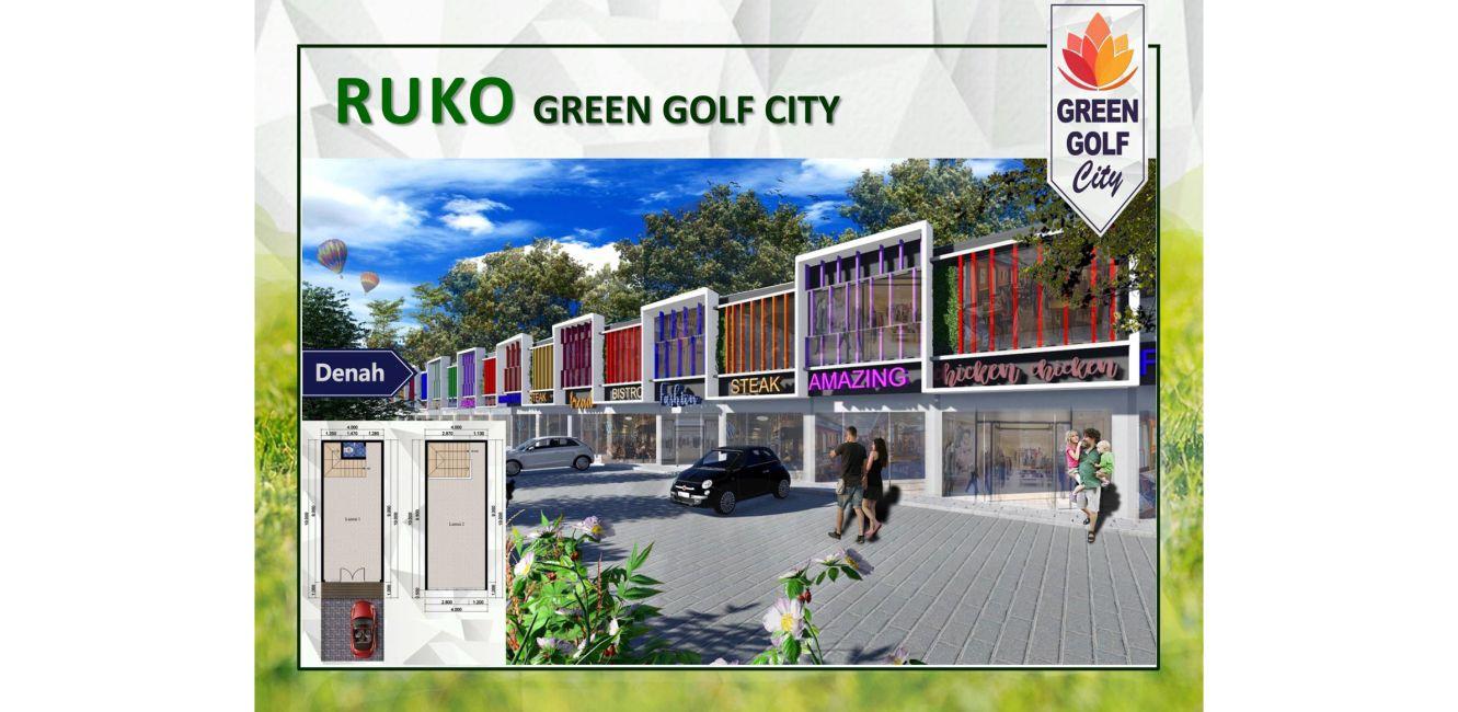 Residensial & Komersial Ruko Green Golf City Tipe Akasia di Tangerang