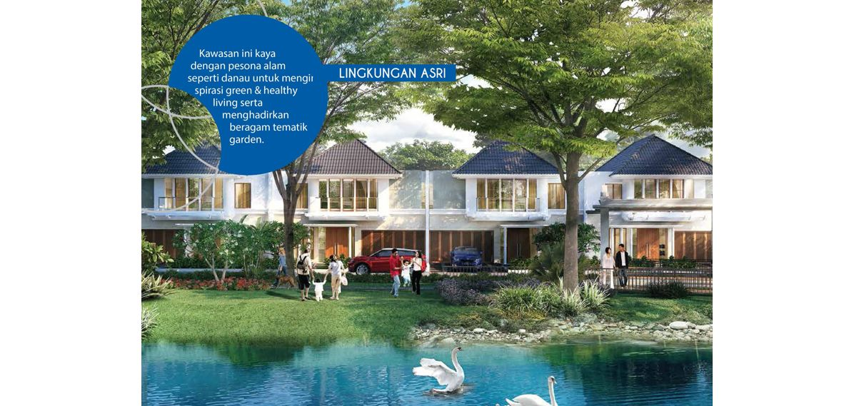 Residensial Citraland Cibubur Tipe Livistona 2 di Bogor