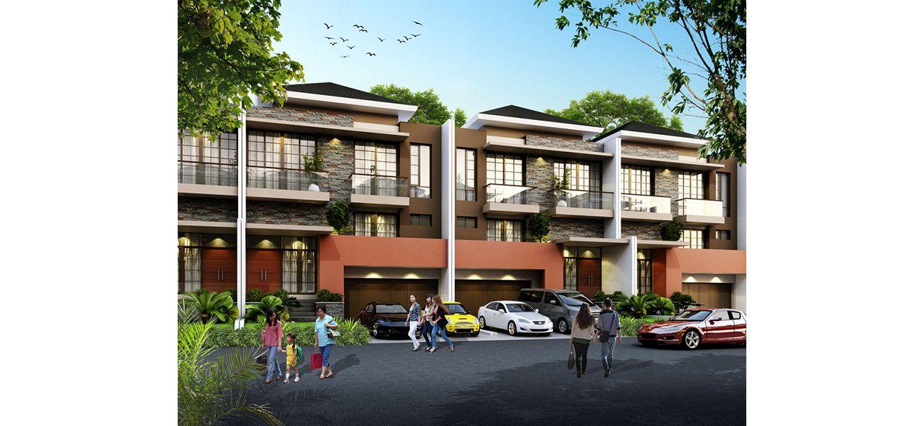 Residensial Cluster Miami at PIK 2 di Jakarta Utara