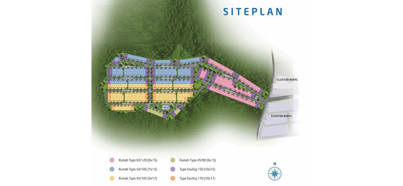 Residensial Kawanua Emerald City di Manado