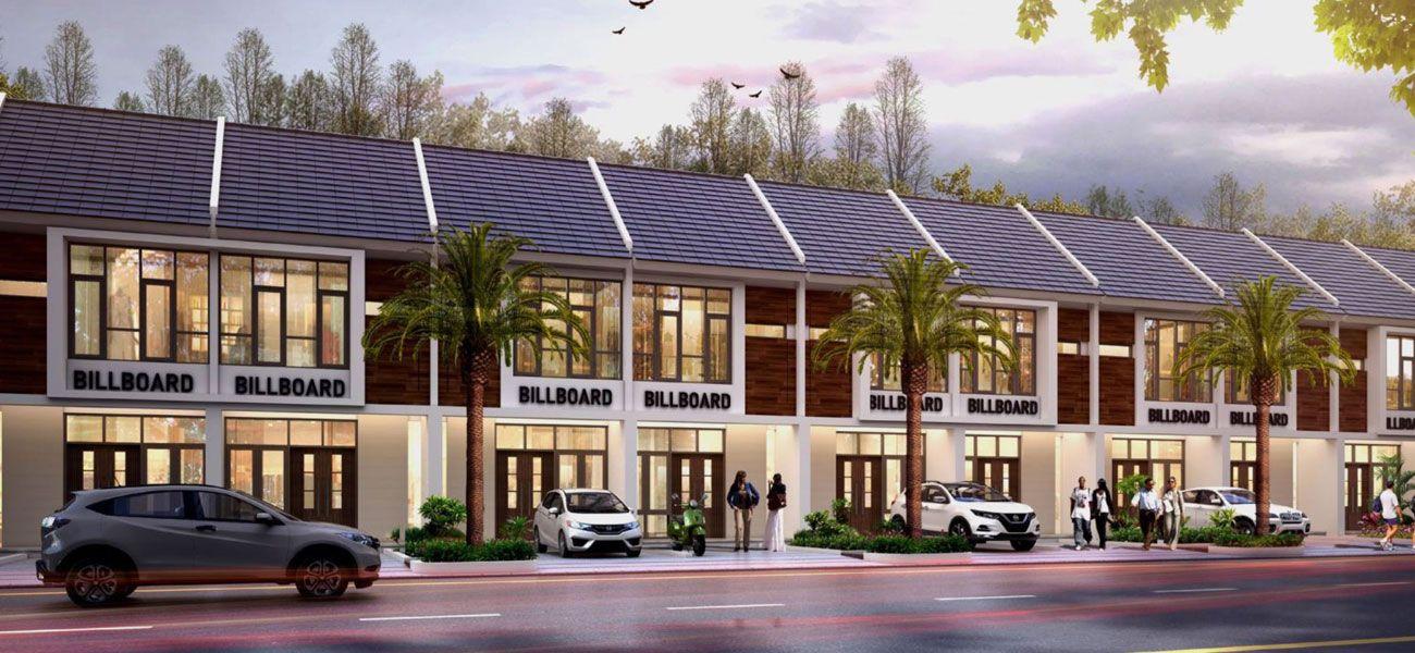 Residensial & Komersial Rumah Usaha Modernland Cilejit Tipe 57 di Tangerang