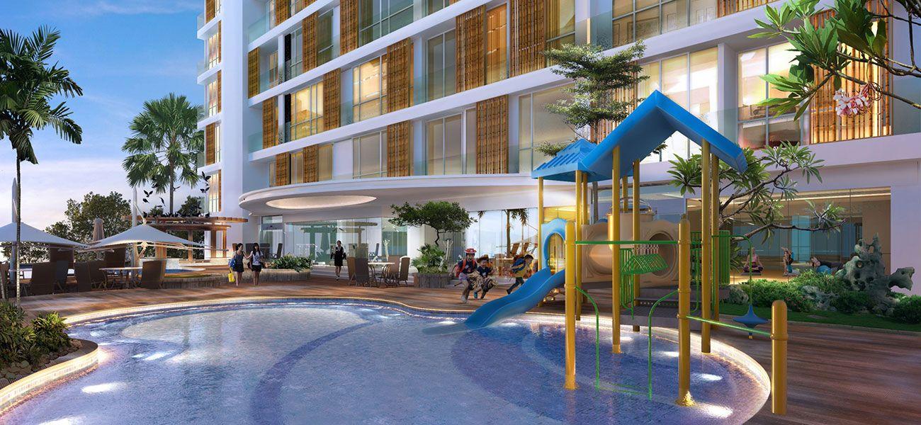 Residensial Norrington Suites di Jakarta Utara
