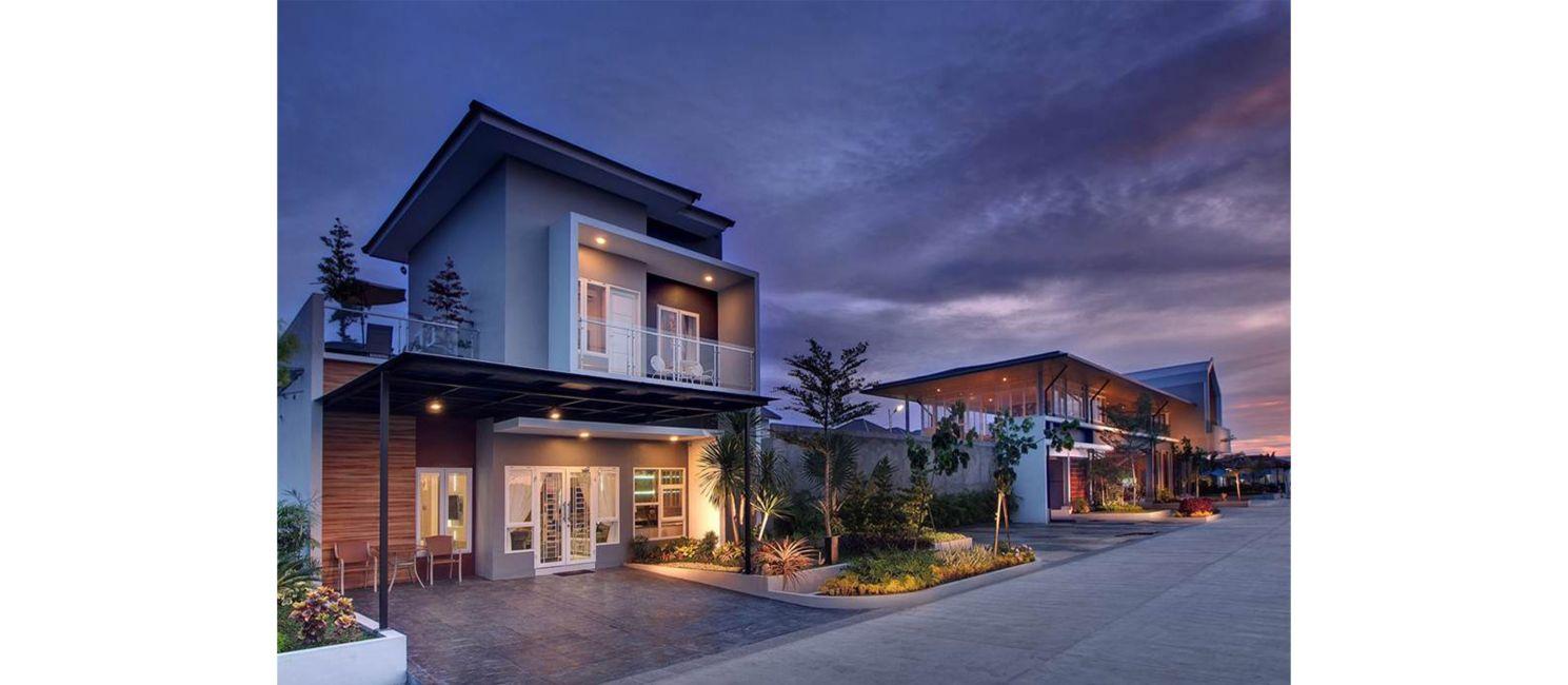 Residensial Cluster Halton Place di Medan