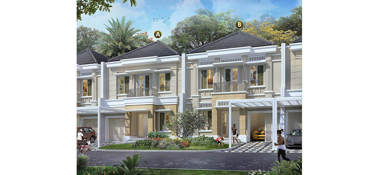 Residensial Scientia Garden at Summarecon Serpong di Tangerang