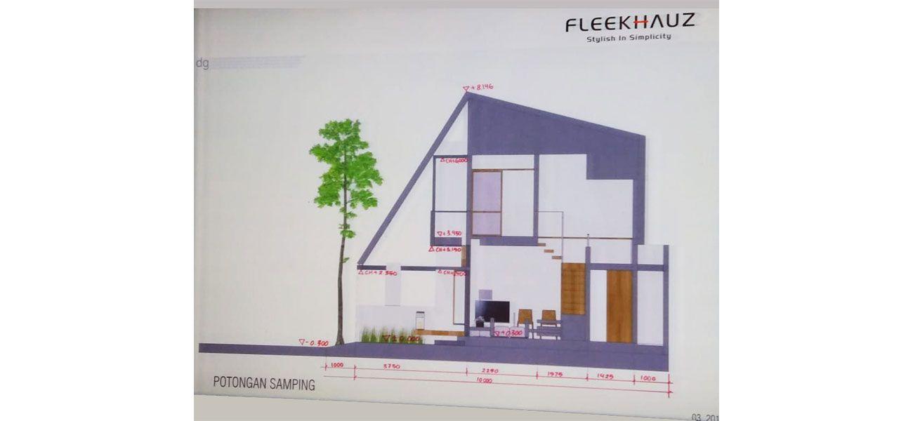 Residensial BSD City – Fleekhauz Tipe 45/56 di Tangerang