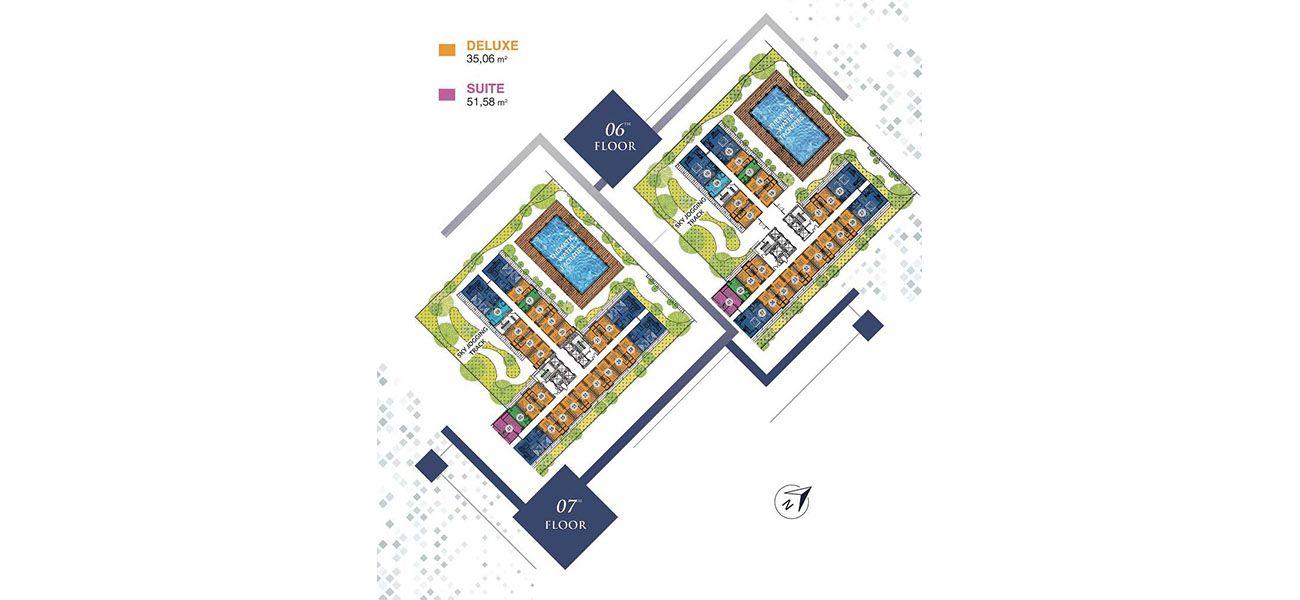 Apartment Klaska Residence di Surabaya