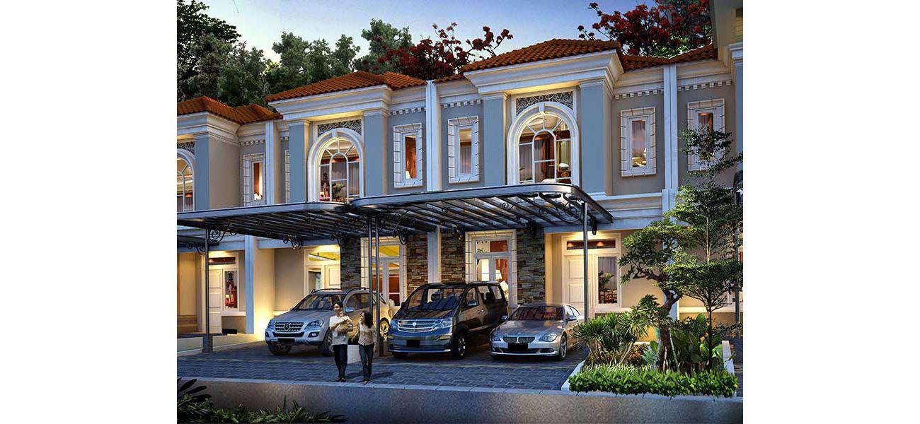 Residensial Cluster La Seine at Jakarta Garden City di Jakarta Timur