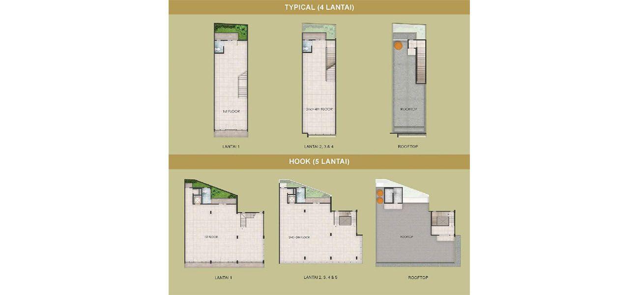 Residensial & Komersial GKIC – Ruko Grand Boulevard Office Park di Manado