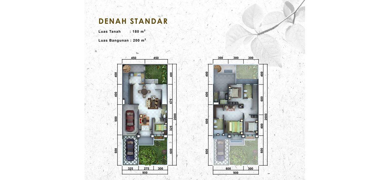 Residensial Cluster Pelican Tipe N at The Springs di Tangerang