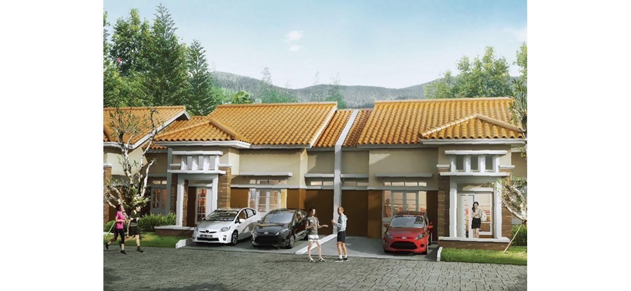 Residensial Cluster Tatar Jingganagara at Kota Baru Parahyangan  di Bandung