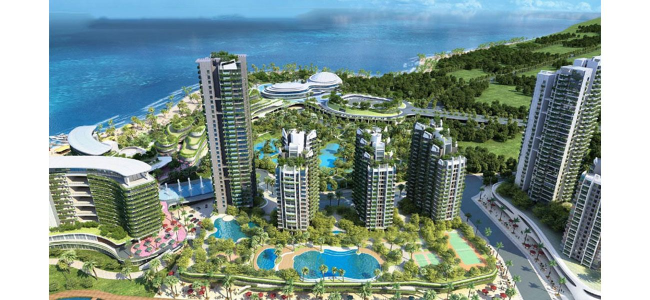 Residensial & Komersial High-Rise Apartment at Forest City Tipe Y221 di Jakarta Utara
