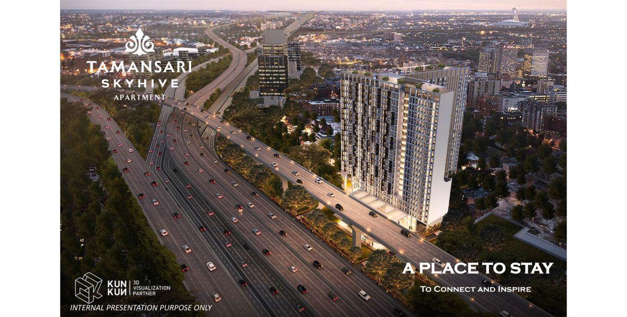 Residensial Tamansari Skyhive Apartment di Jakarta Timur