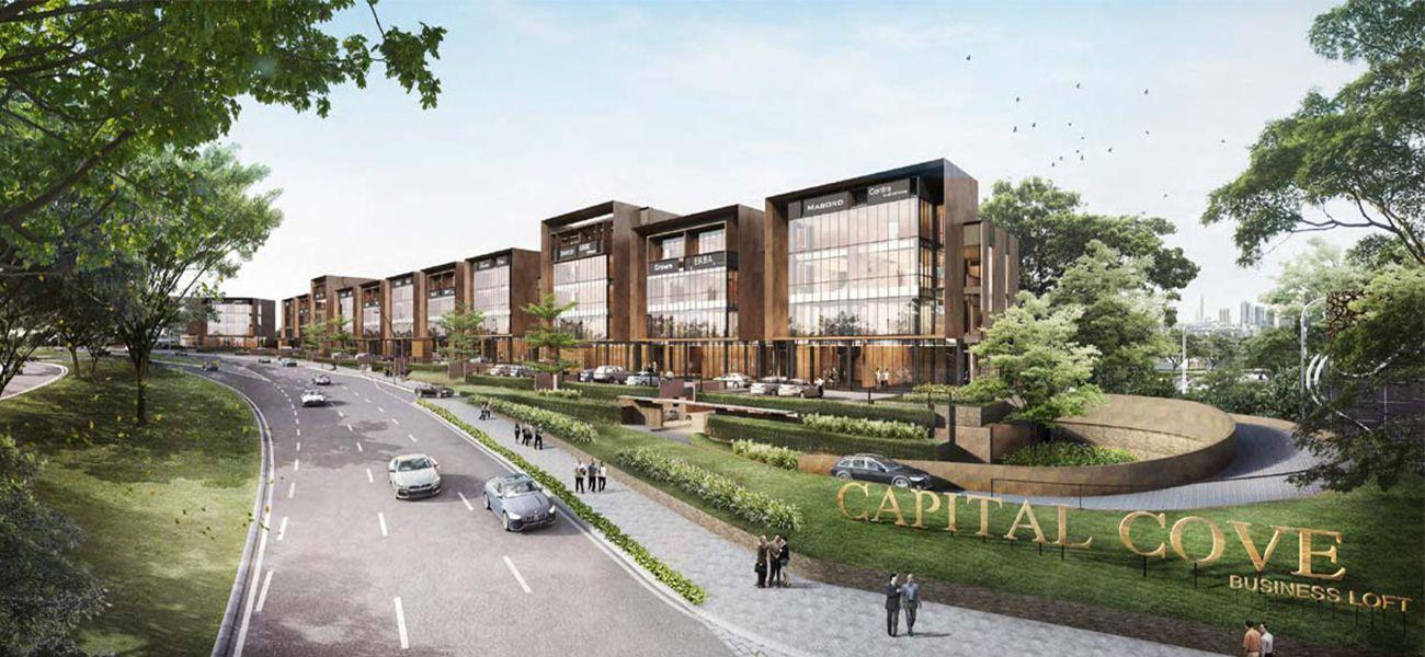 Komersial BSD City – Capital Cove di Tangerang Selatan