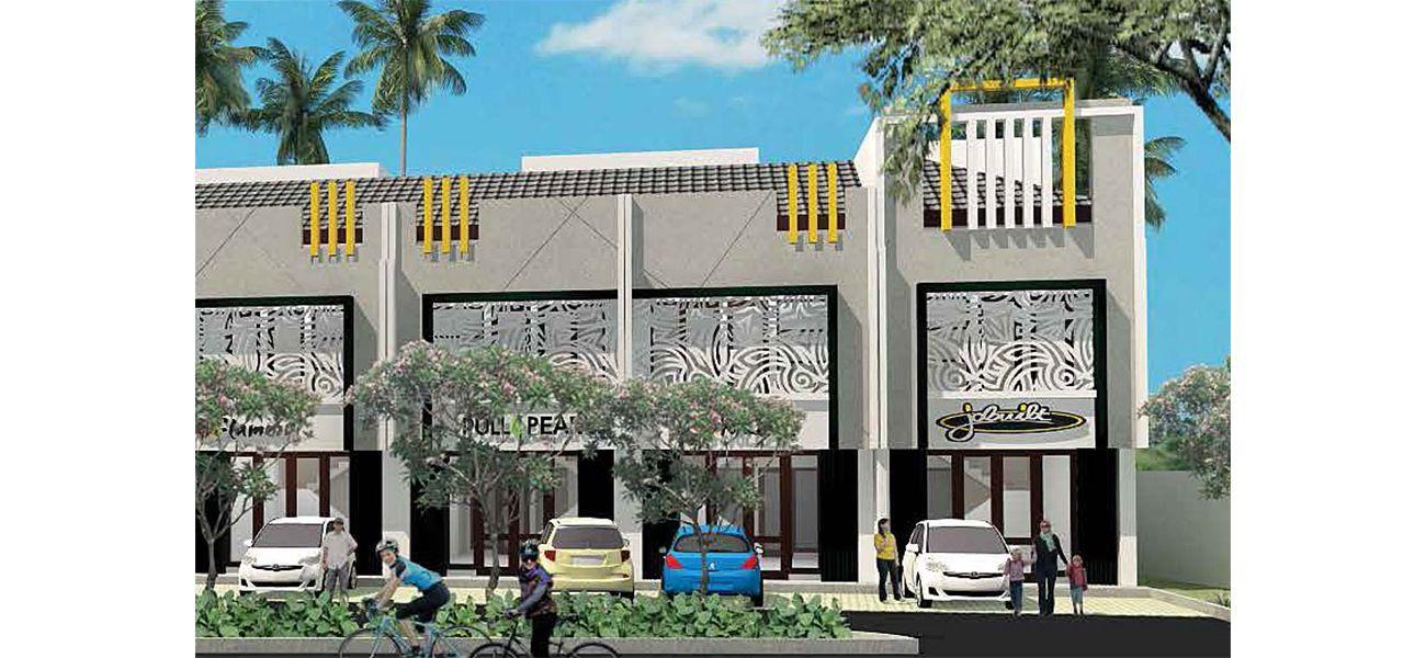 Residensial & Komersial Jade Park 2 Tipe Ruko Amethyst di Bogor