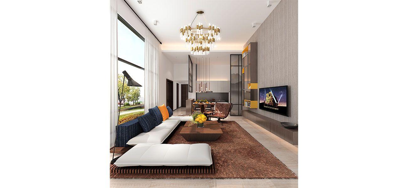Residensial & Komersial Golf Resort at Forest City Tipe V160 di Jakarta Utara