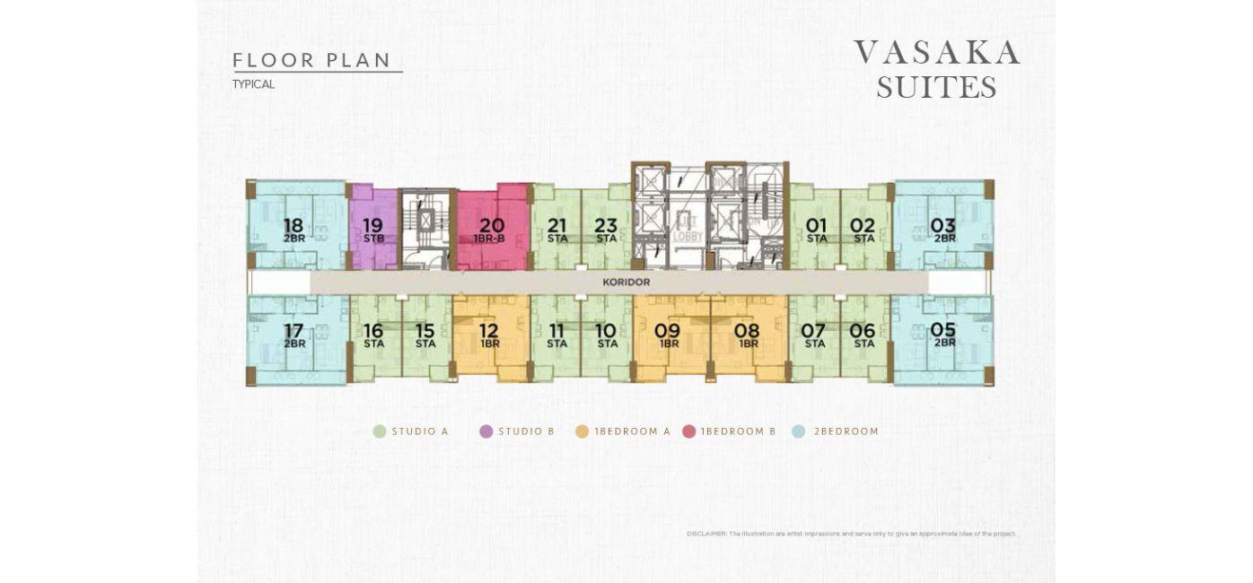 Residensial Solterra Place - Vasaka Suites di Jakarta Selatan