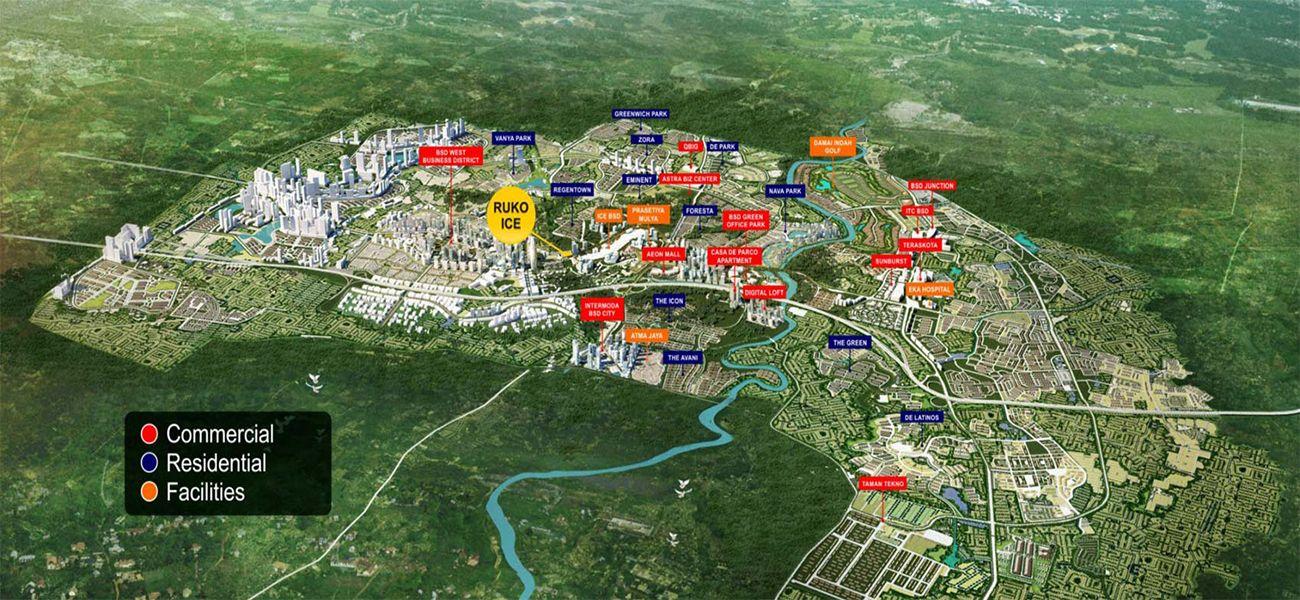 Komersial BSD City – ICE Business Park di Tangerang