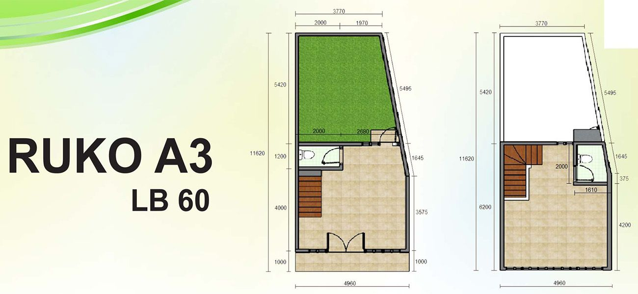 Residensial & Komersial Naira Residence Tipe Ruko di Tangerang Selatan