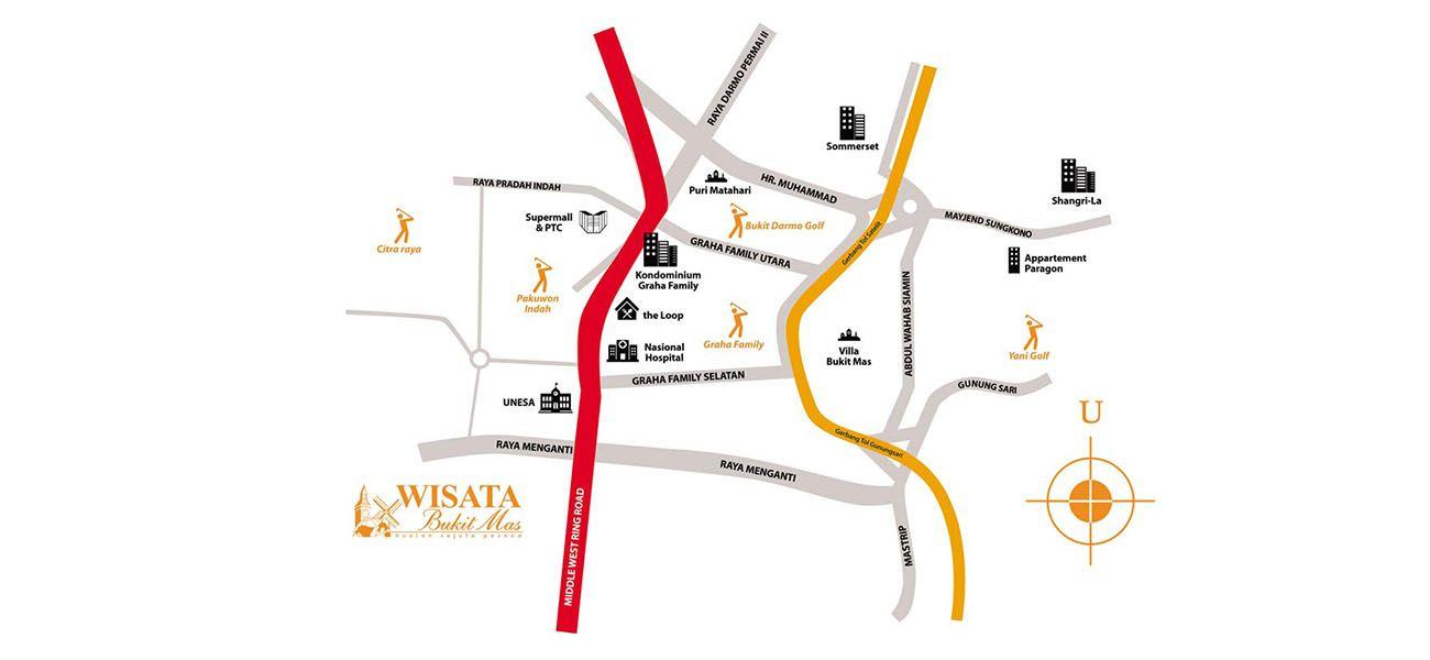 Residensial Paddington at Wisata Bukit Mas di Surabaya