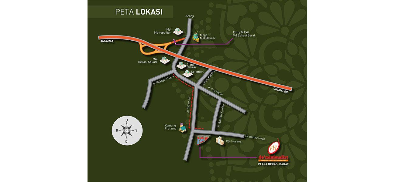 Komersial De Minimalist Bekasi di Bekasi