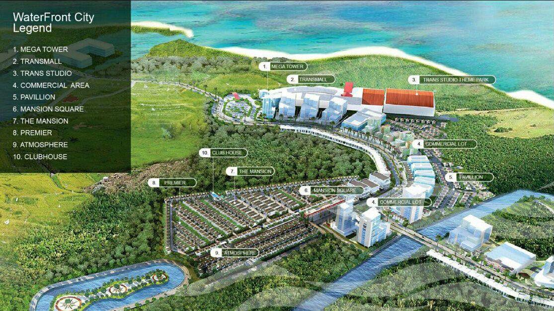 Residensial Cluster Atmosphere at RKM Tanjung Bunga di Makassar