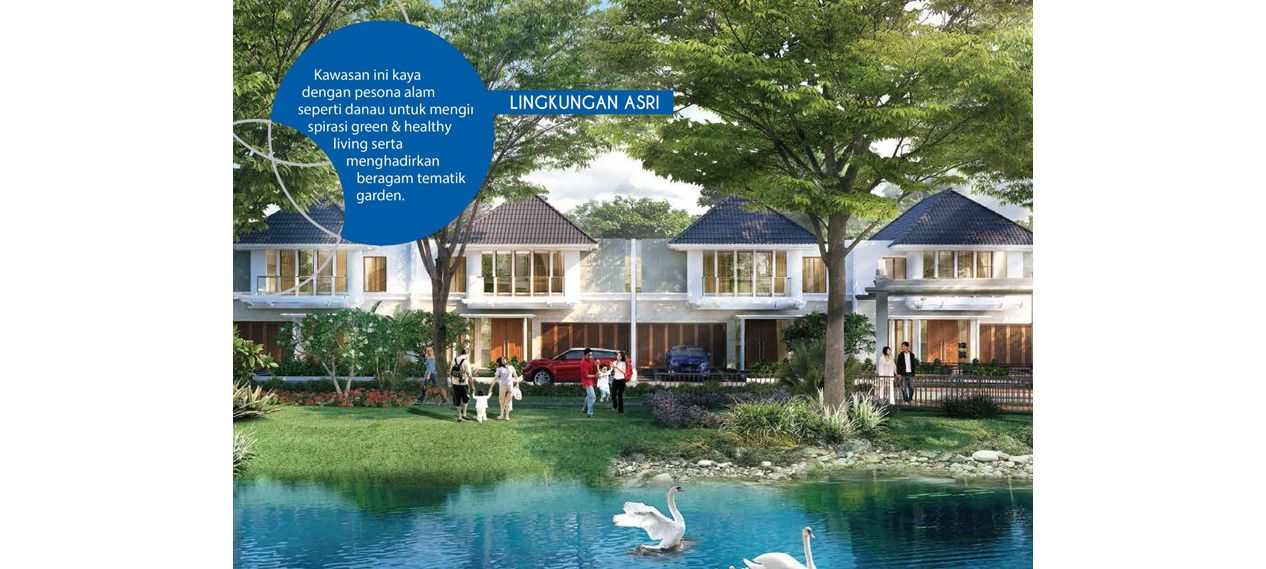 Residensial Citraland Cibubur Tipe Caryota 3 di Bogor