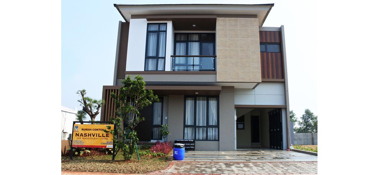 Residensial Nashville at Kota Wisata Cibubur Tipe 220 di Bogor