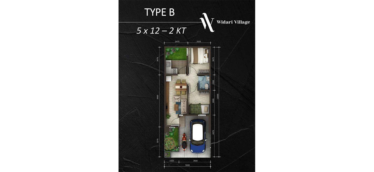 Residensial Widari Village Tipe B  di Tangerang