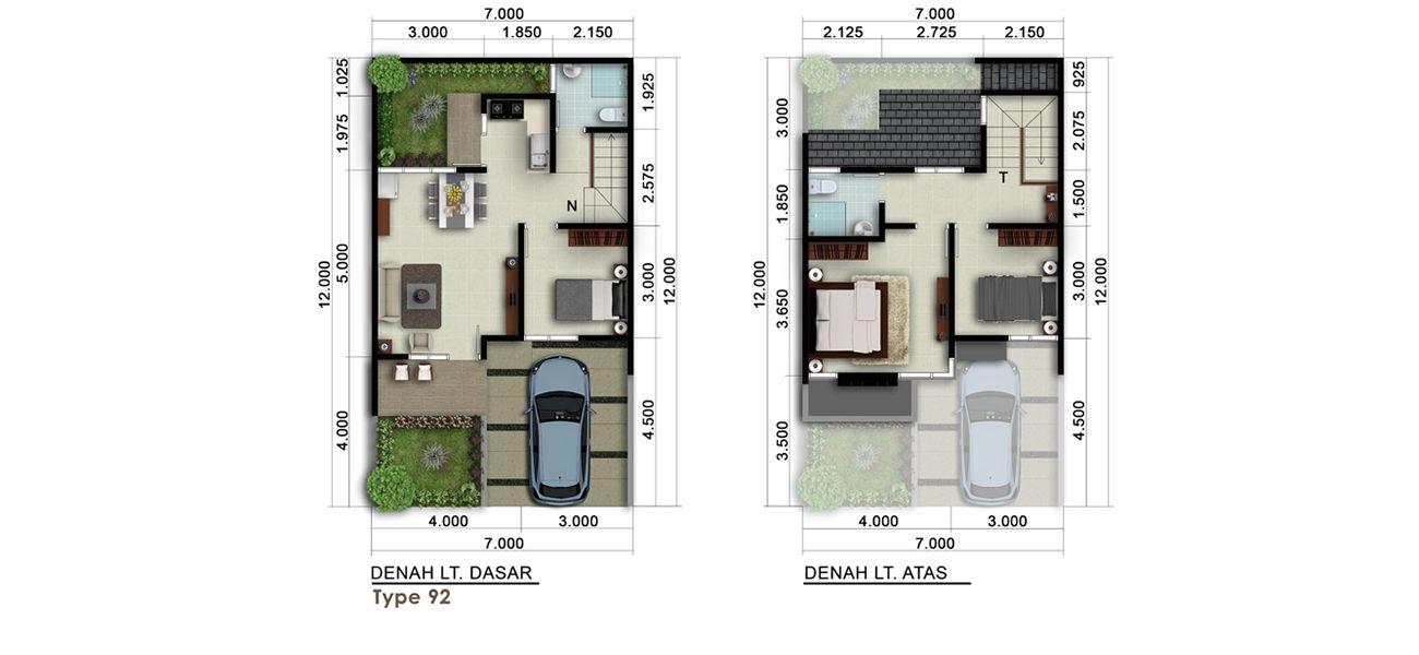 Residensial New Visalia at Kota Wisata Cibubur Tipe 92 di Bogor