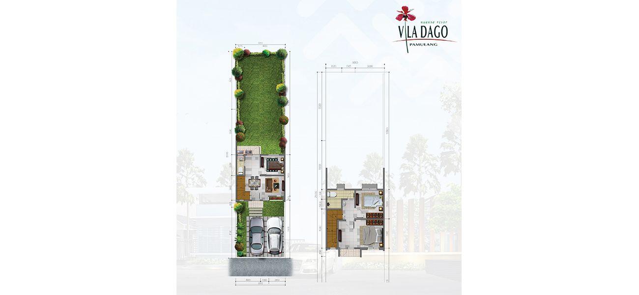 Residensial Vila Dago Pamulang Tipe Corner  di Tangerang Selatan