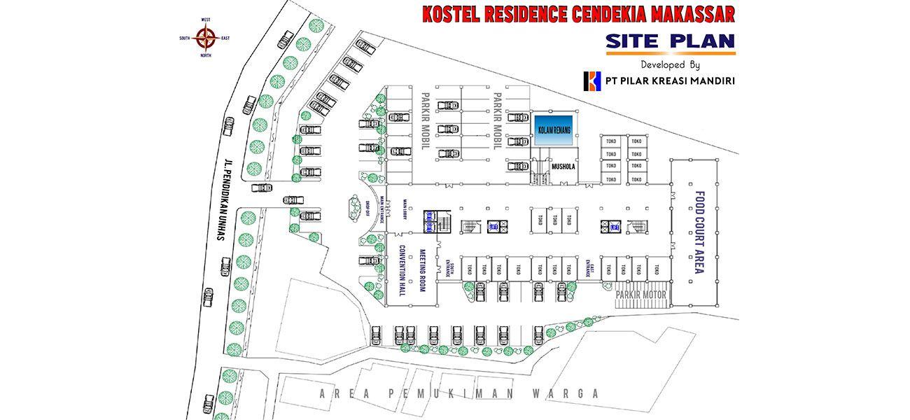 Residensial Kostel Cendekia Makassar di Makassar