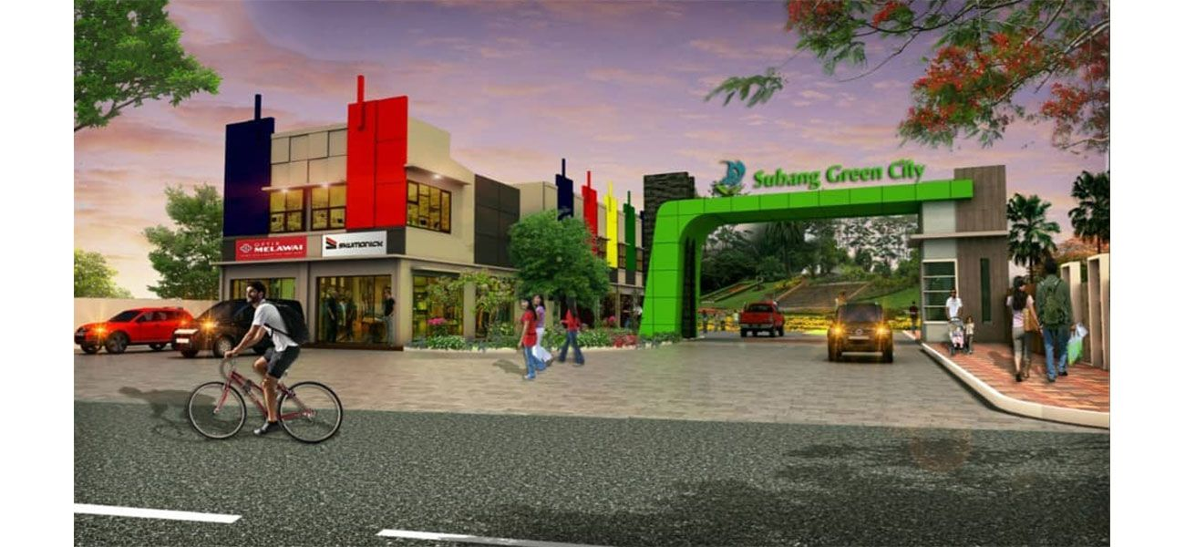 Residensial Subang Green City di Subang