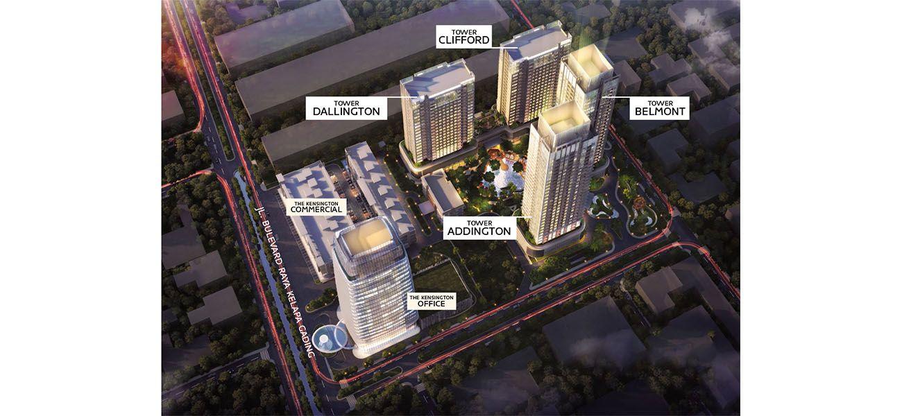 Residensial Kensington Apartment di Jakarta Utara