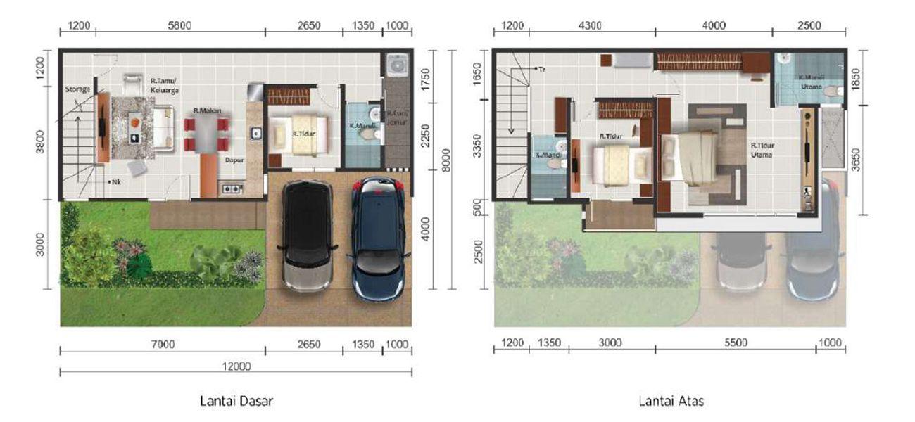 Residensial Paramount Land Alma Tipe L12 di Tangerang