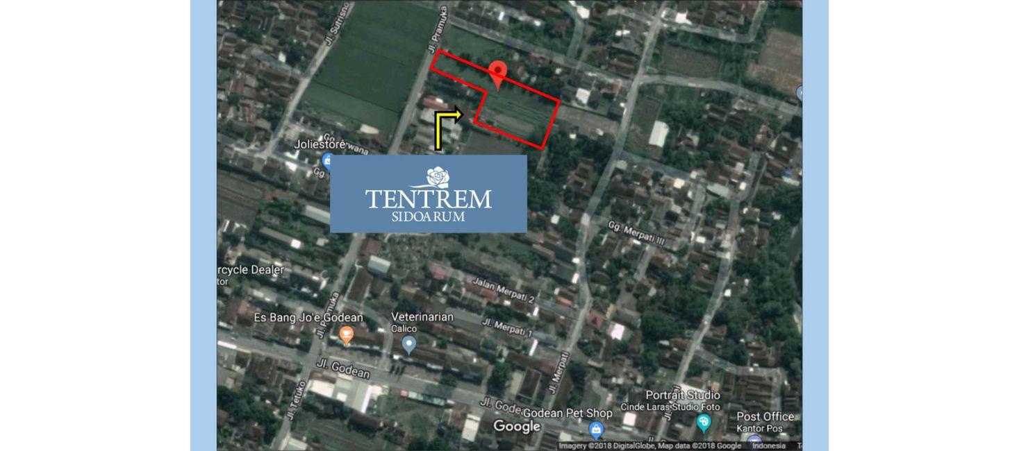 Residensial Tentrem Sidoarum di Sleman