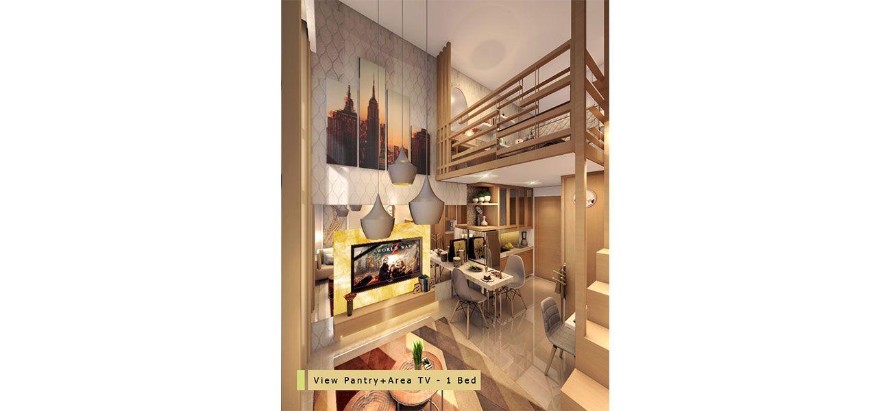 Residensial Tower Cherry Tipe Studio di Jakarta Selatan