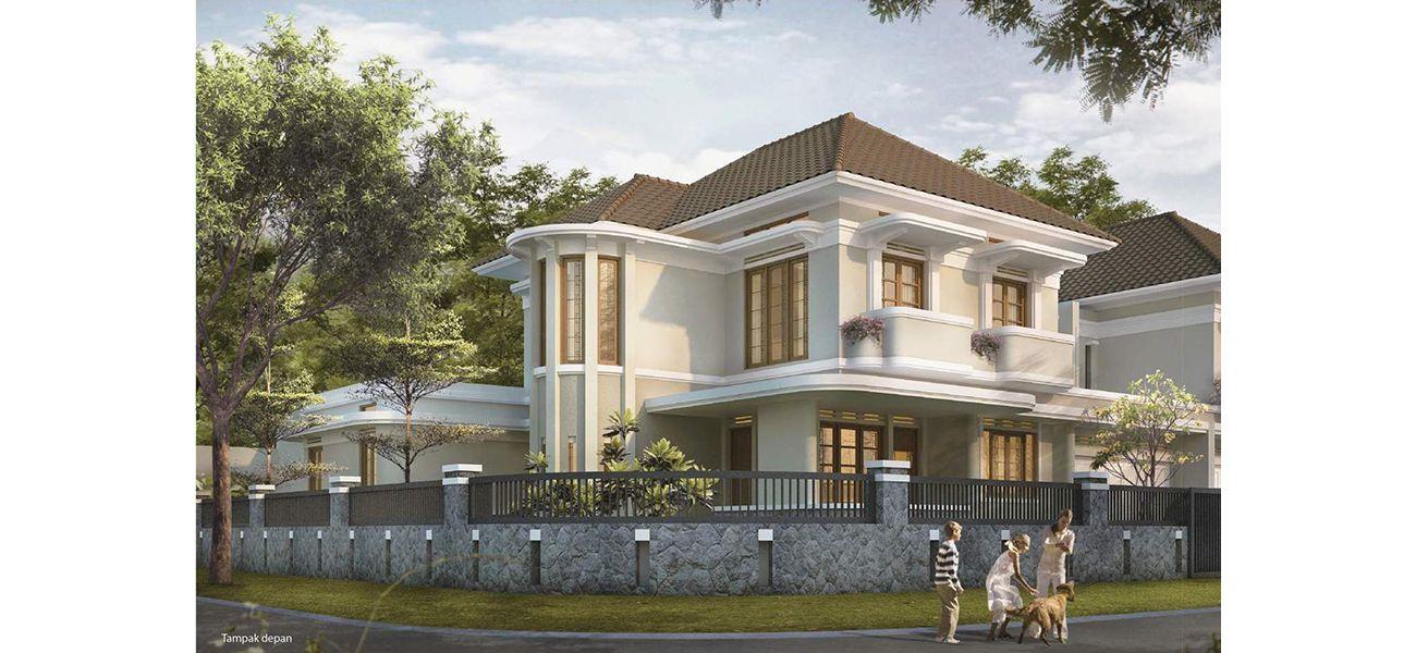 Residensial Koridor Bandoeng Tempo Doeloe Tipe Candra Asri di Bandung