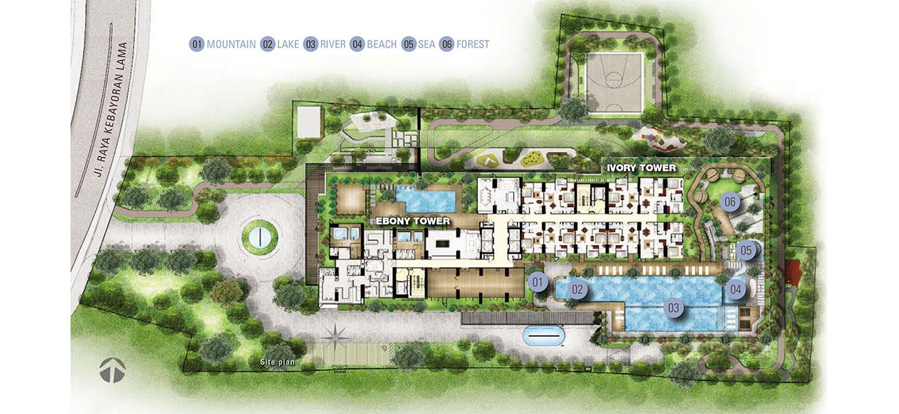 Residensial Permata Hijau Suites di Jakarta Selatan